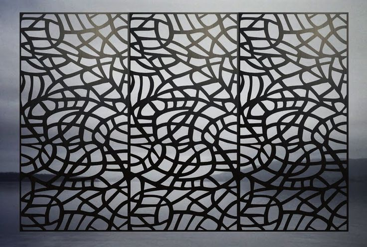 Perforated metal panels beautiful decorative metal for Deco metal mural