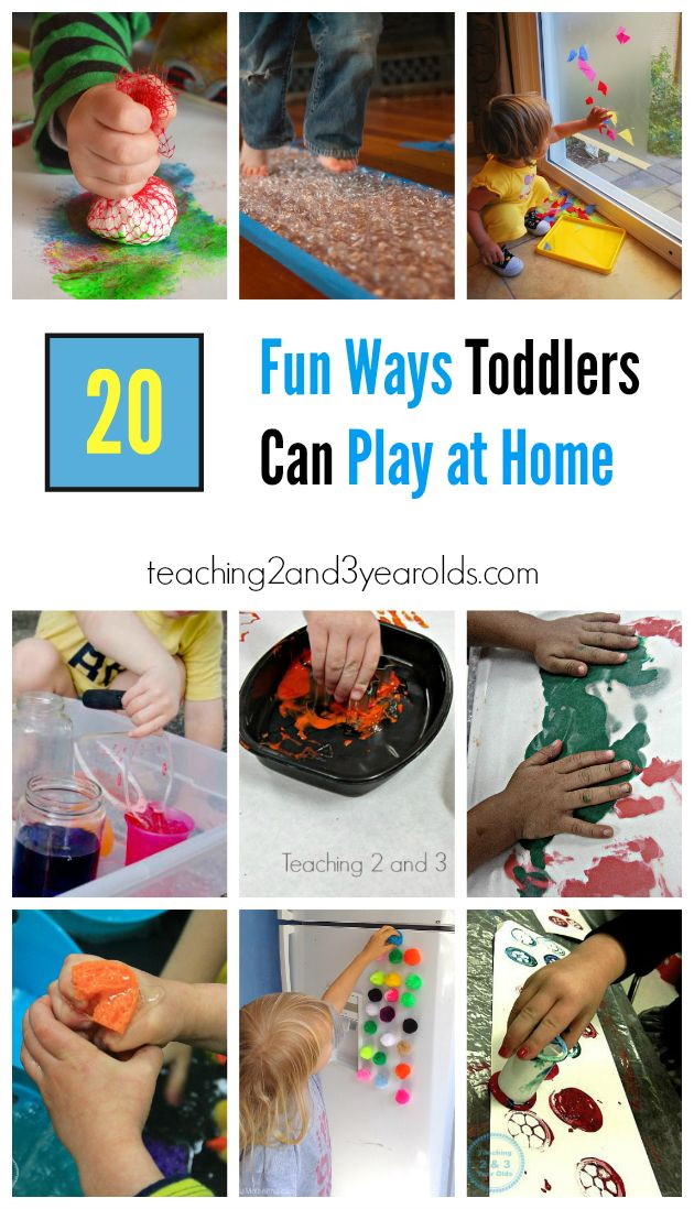 20 Fun And Easy Toddler Activities For Home Teaching 2