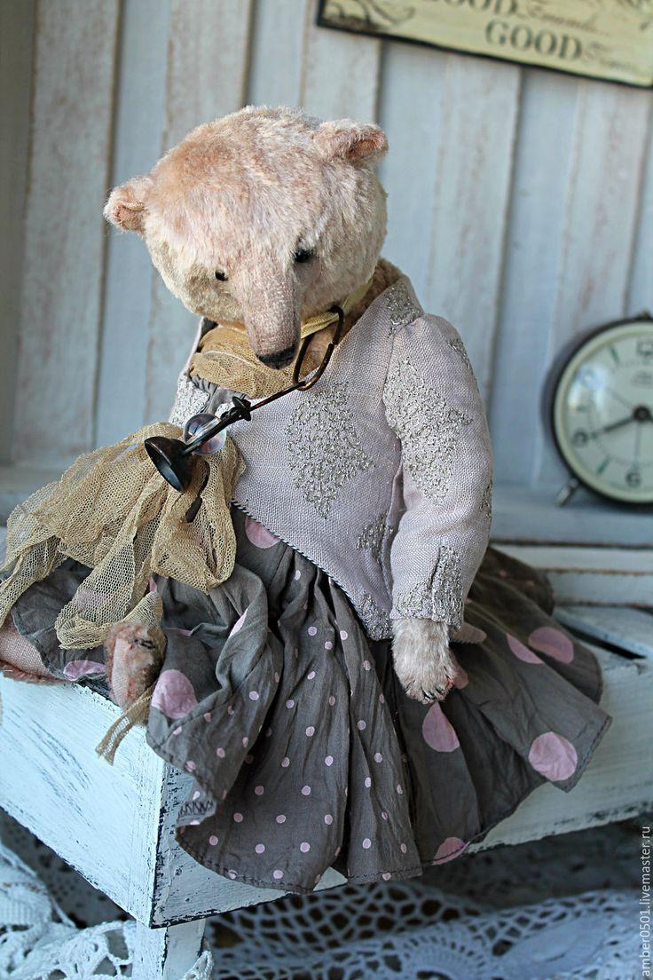 Купить MATILDA - бледно-сиреневый, тедди мишка, тедди, медведи, медведь тедди, мишка, плюш