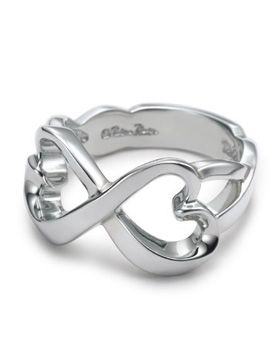 Tiffany & Co Outlet Double Loving Heart Ring