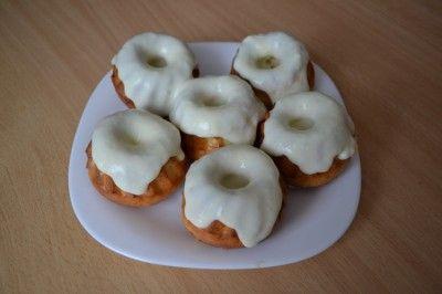 Кексы с заварным кремом ( диета Дюкан) : Низкокалорийные рецепты