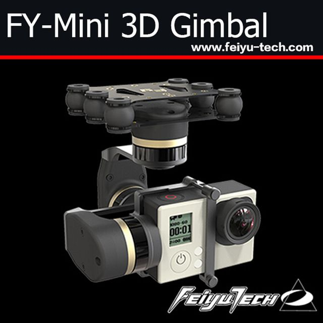 FeiYu new 3 axis gimbal for aircraft / FY-Mini 3D brushless gimbal for aircraft Multicoper US $128.88 /piece To Buy Or See Another Product Click On This Link  http://goo.gl/EuGwiH