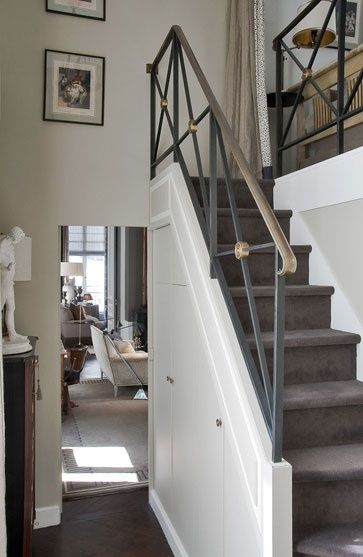 Narrow Foyer Stairs : Best ideas about indoor stair railing on pinterest