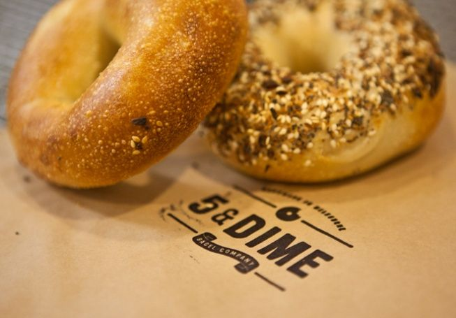 5 and Dime Bagels, coming to Melbourne's Farmer's Markets. YUMMO! #melbourne #farmersmarket #food
