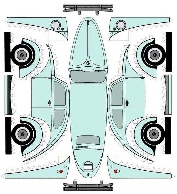164 best carros armables images on Pinterest | Papercraft, Paper art ...