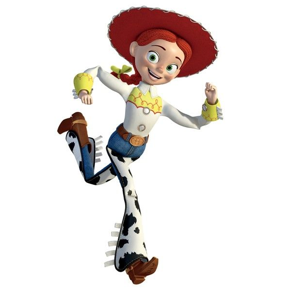Jessie the Cowgirl from Toy Story 2-- for reference