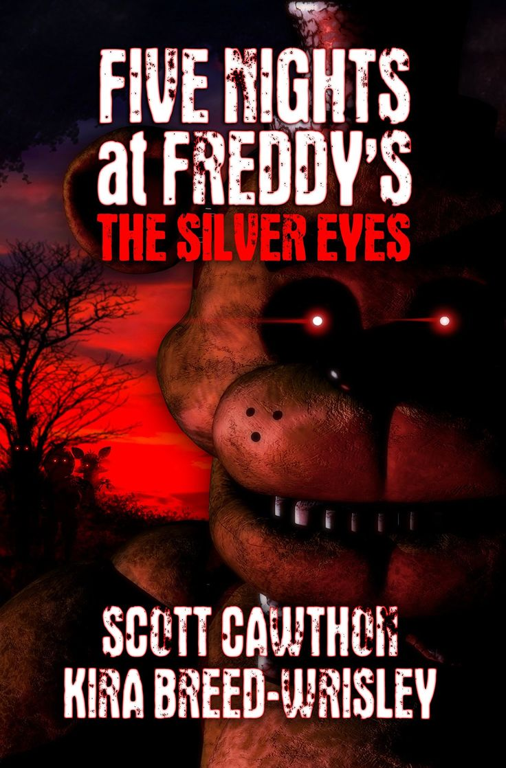 Book Review FNAF The Silver Eyes by Scott Cawthon