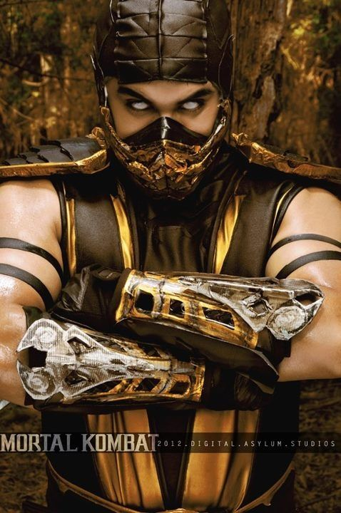 #Cosplay Mortal kombat: #Scorpion