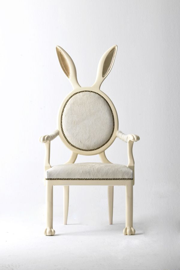 White Rabbit Chair designed by Merve Kahraman. {I NEED this!!!}