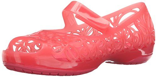 crocs Isabella Jelly Flat (Toddler/Little Kid) >>> To view further for this item, visit the image link.