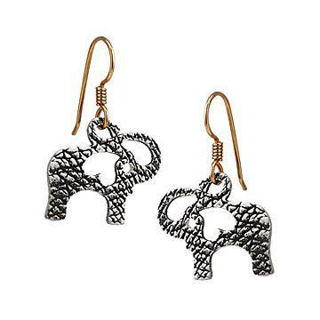 Happy Elephant Earrings