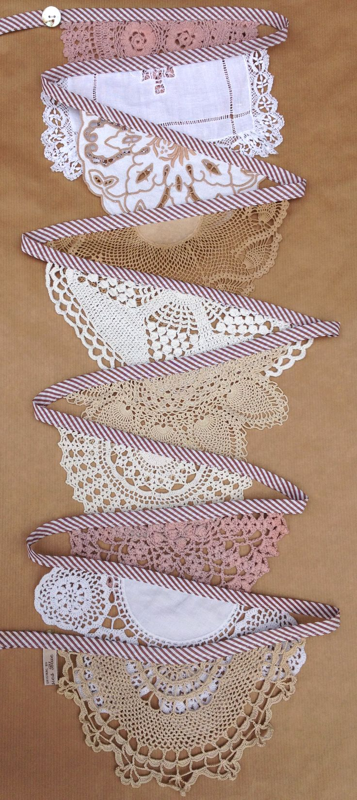 25 Best Ideas About Doily Banner On Pinterest