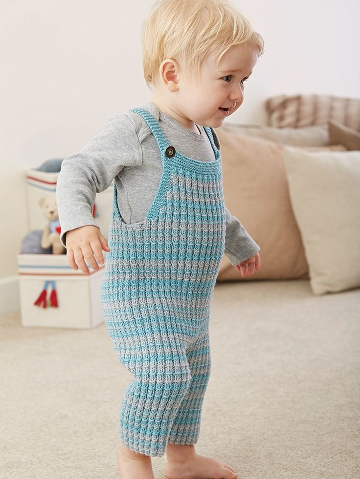 Knitting Pattern Baby Jumpsuit : 175 best images about Baby Trousers and Shorts - Knitting and Crochet Pattern...