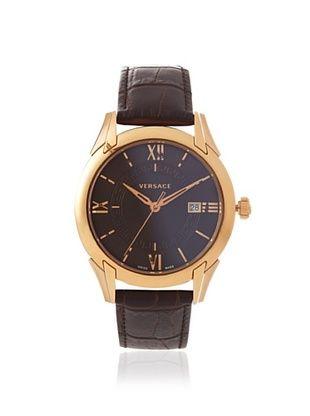 Versace Men's VFI030013 Apollo Brown Leather Watch