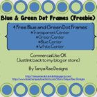 This freebie includes 4 Polka Dots Frames. Each Frame has a different background: 1 transparen...