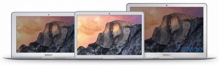 """El MacBook Air de 12"""" será considerablemente más pequeño que la versión actual de 13 pulgadas..."""