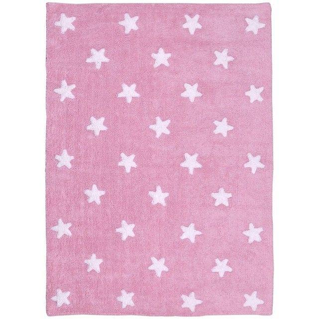 STARS WHITE en Coton, par Lorena Canals, Tapis pour enfant