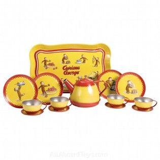 Curious George Tea Set  sc 1 st  Pinterest & 150 best Rey H.A. Curious George Products images on Pinterest ...