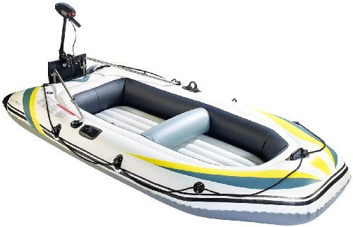 Speeron Schlauchboot mit Elektro-Motor 18 lbs