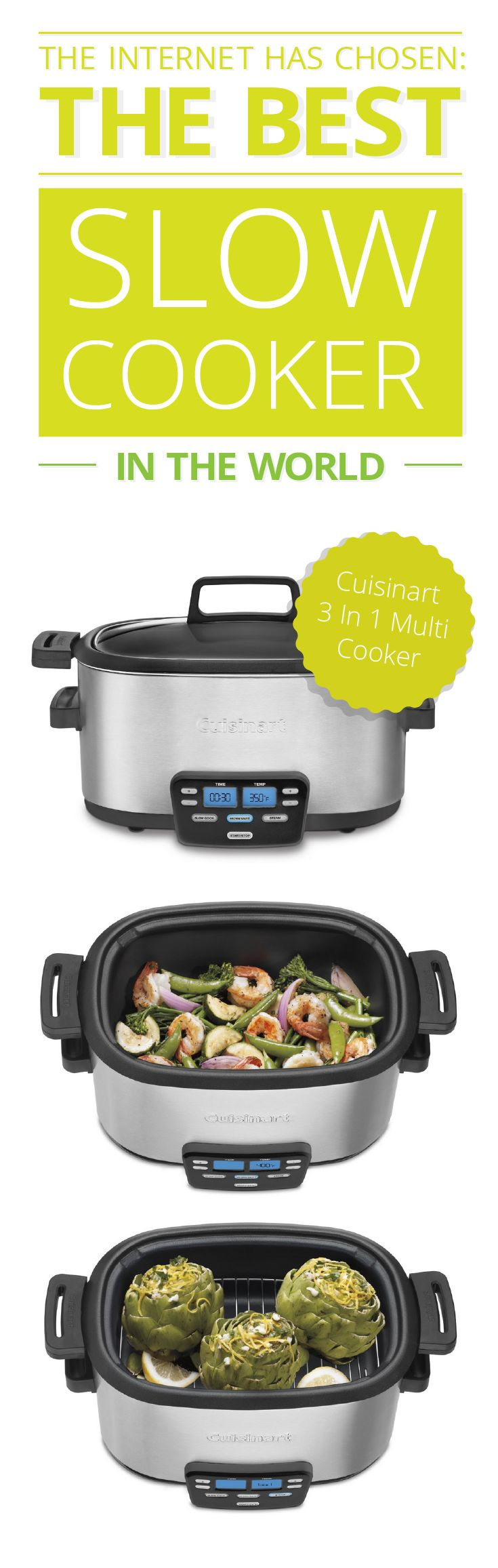 Don't know which slow cooker to buy? Say goodbye to buyers' remorse with these awesome slow cookers! #food #eat #healthy