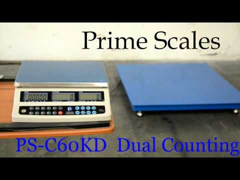 Dual Counting Scale - the best way to count items in big quantity