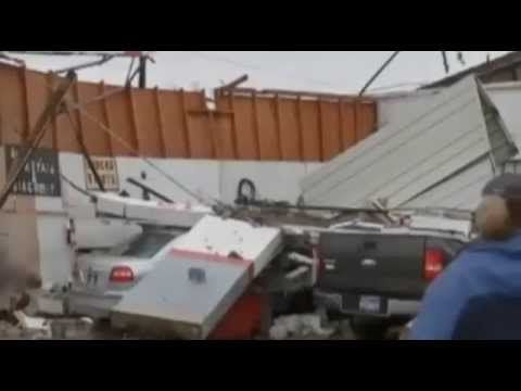 Strong Winds Caused Major Damage of Texas Autoshops