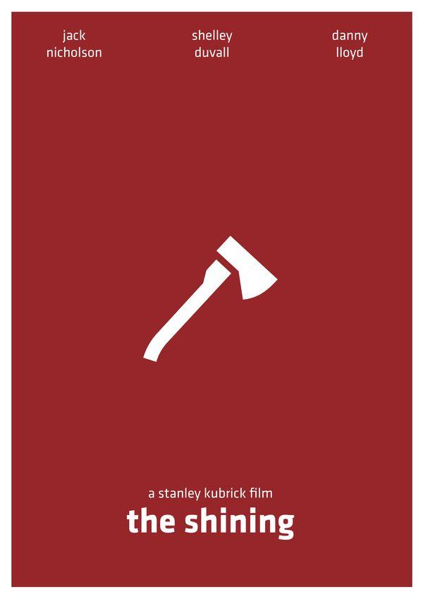 The Shining (1980) ~ Minimal Movie Poster by Arden Avett