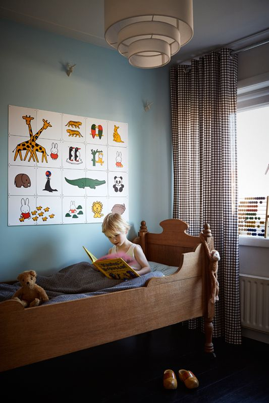 IXXI wall decoration made with illustrations of Miffy at the zoo. The IXXI in this example will cost $108.00. #ixxi #ixxidesign