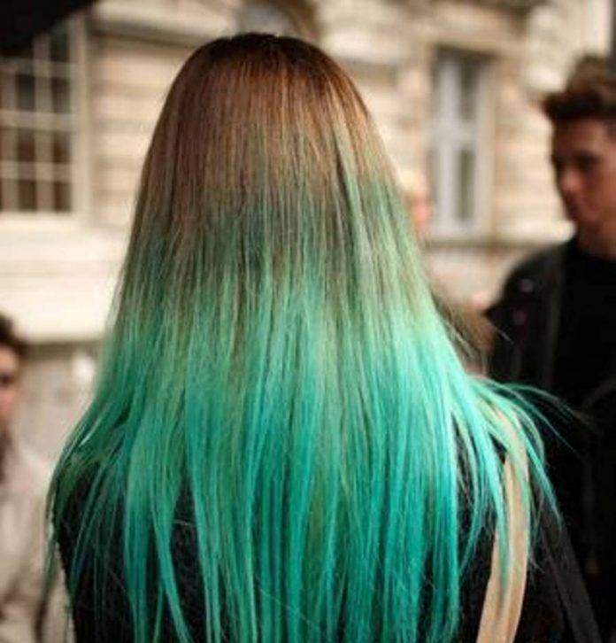 Yeşil Saç Modelleri - En Güzel Renli Saç Modelleri Fikirleri