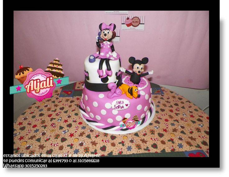 minnie mouse torta , cake