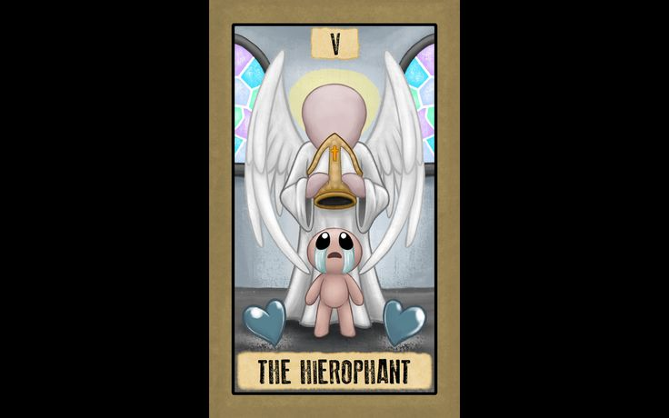 The Binding of Isaac - V The Hierophant | The binding of ...