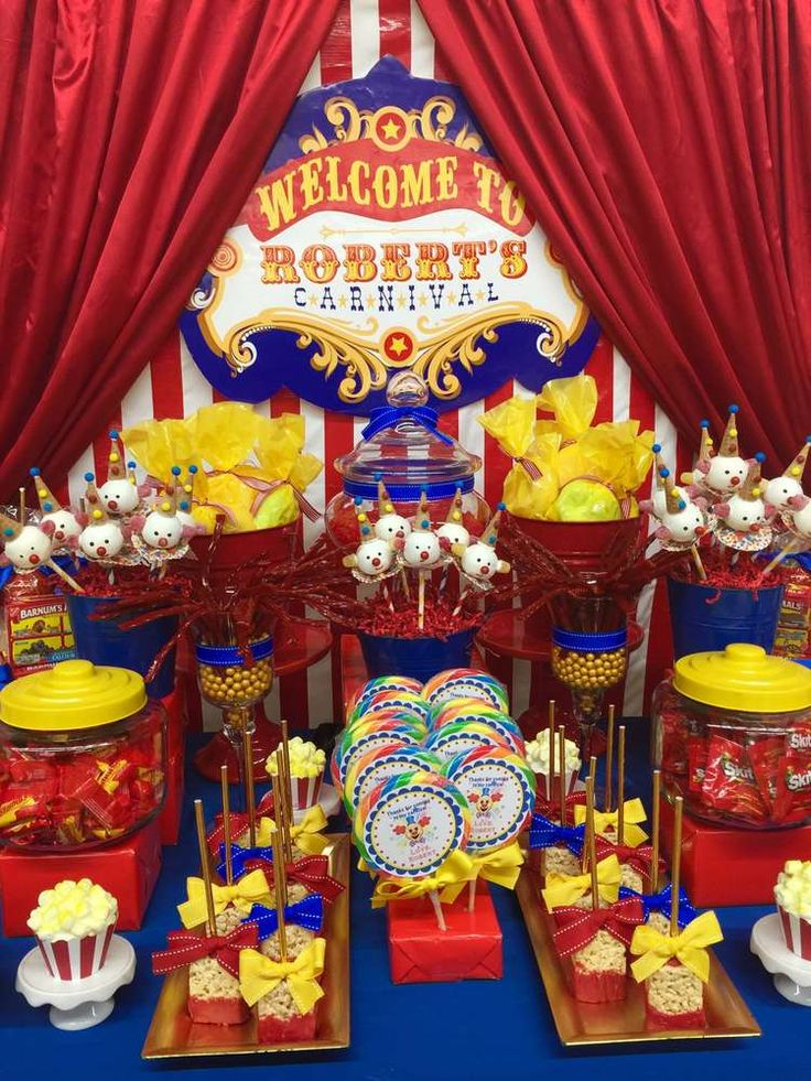 Best 25 carnival birthday parties ideas on pinterest circus carnival party circus party - S party theme decorations ...