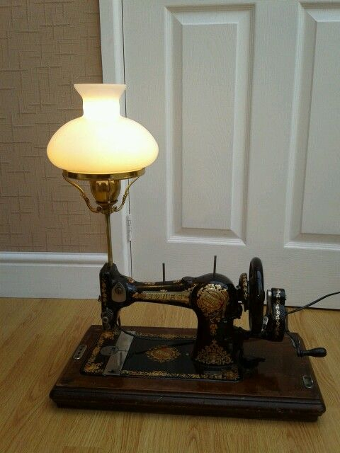 17 Best Images About Sewing Machine Lamps On Pinterest