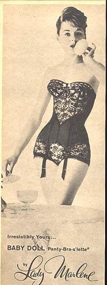 Vintage Ad Lady Marlene