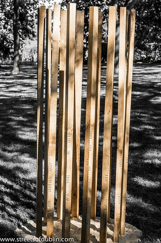 Song by John Moloney: Sculpture In Context 2012 at the National Botanic Gardens [The Streets Of Ireland]