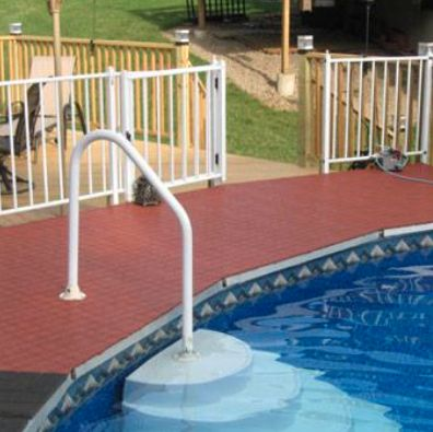 36 best pool decks images on pinterest pool ideas for Pool area flooring