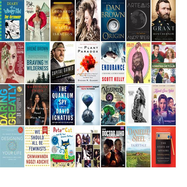 """Wednesday, November 15, 2017: The New Braunfels Public Library has 22 new bestsellers, 29 new movies, six new audiobooks, six new music CDs, 28 new children's books, and 55 other new books.   The new titles this week include """"Diary of a Wimpy Kid Book 12,"""" """"Beautiful Trauma,"""" and """"Leonardo da Vinci."""""""