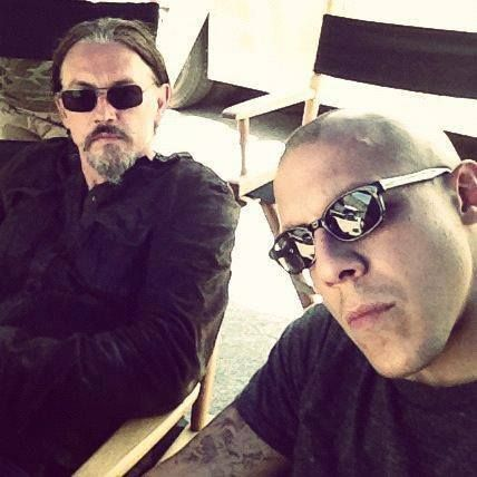 Theo Rossi and Tommy Flanagan <3