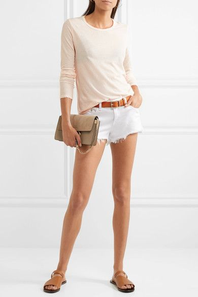 James Perse - Cotton-jersey Top - Peach
