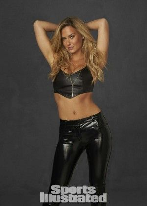 Bar Refaeli Leather Pants 2014  si   Bar Refaeli in Leather for Sports Illustrated Swimsuit 2014 'Legends ...