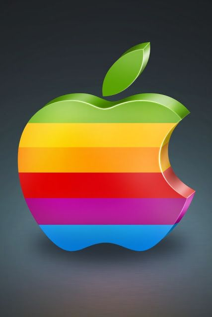 Apple 3d iphone wallpaper by wallpaper for Fondos 3d iphone