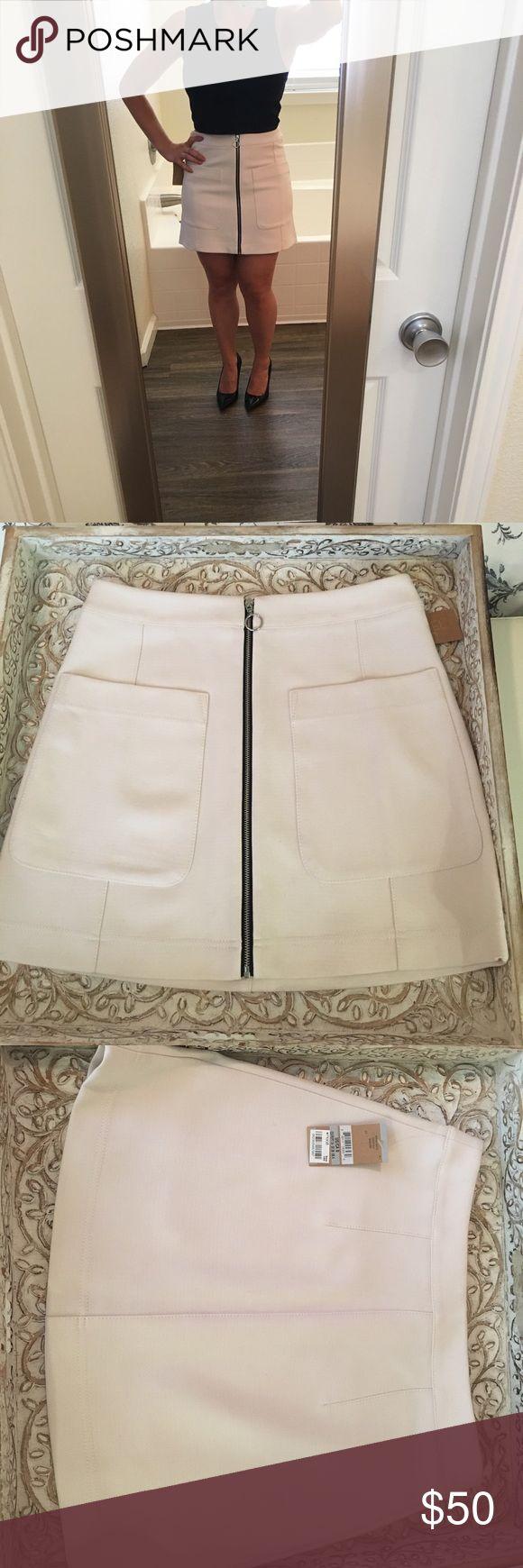 NWT Rachel Roy Cream Skirt Size 0 Rachel Roy Cream Skirt. NWT! Dry Clean item. RACHEL Rachel Roy Skirts Mini