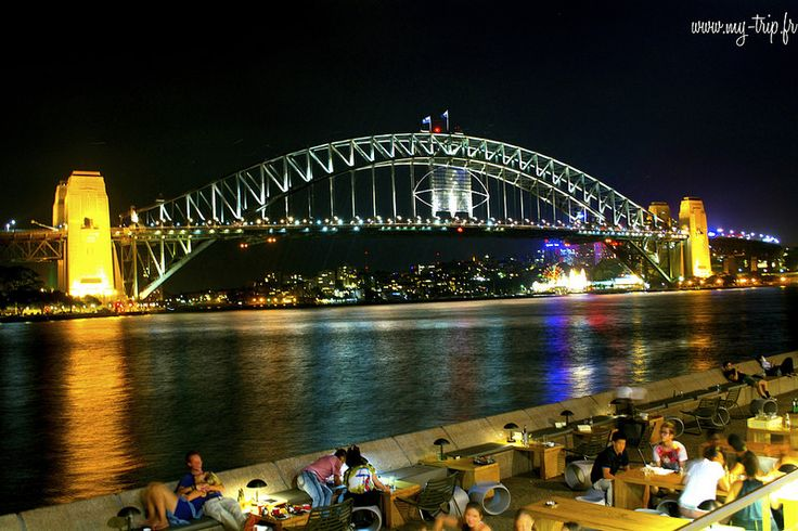 Escalader Harbour bridge de nuit