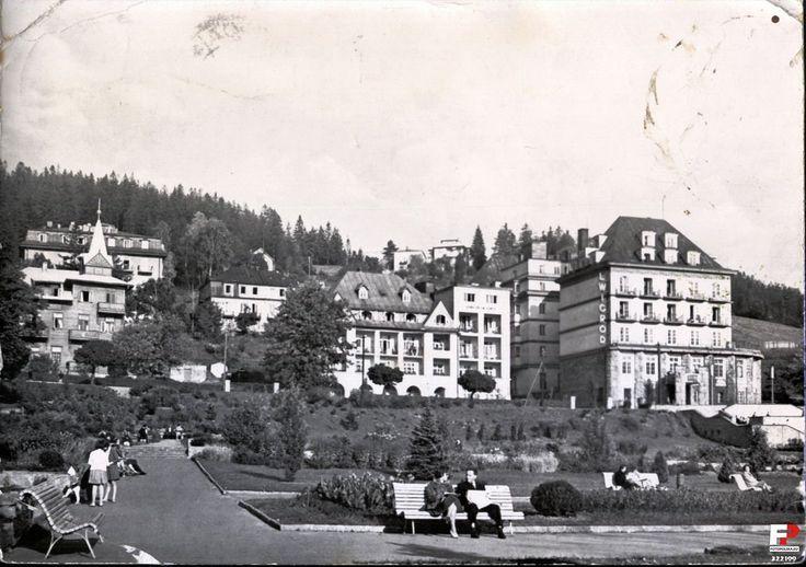 Ośrodek Konferencyjno-Wypoczynkowy / Sanatorium Lwigród, Krynica Zdrój, 1963