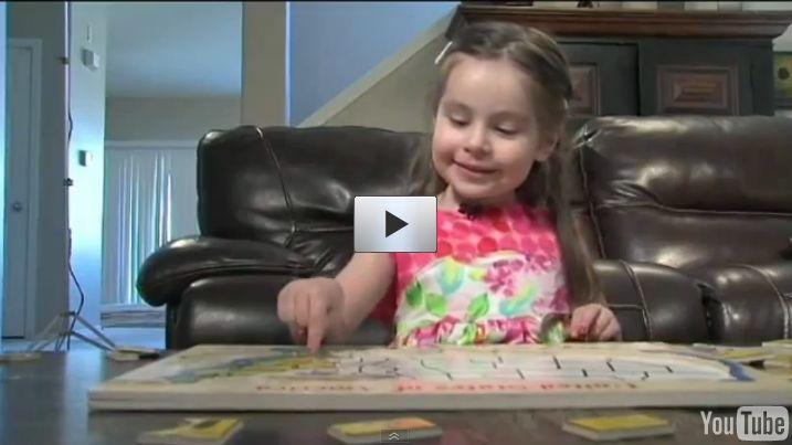 Cette petite fille de 3 ans aurait le QI D'Albert Einstein !