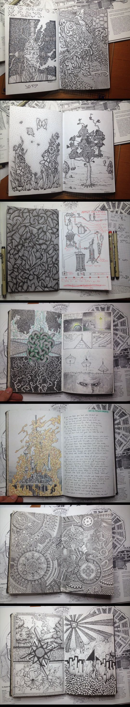 cool-book-draw-sketchbook-plants