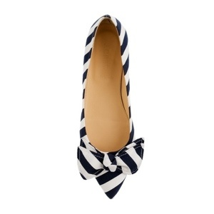 THE PERFECT STRIPED FLAT: Shoes, Style, Striped Flats, J Crew, Stripe Flats, Viv Stripe, Jcrew, Stripes, Crew Viv