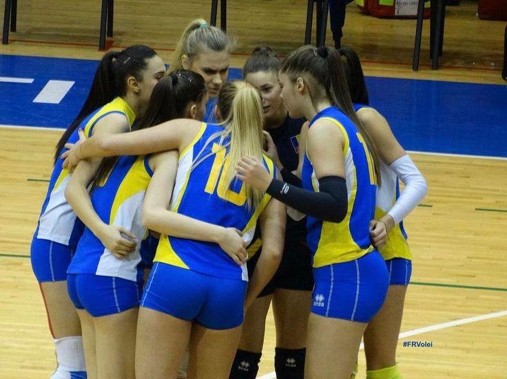 Maine #RomaniaU18 debuteaza la #EuroVolleyU18W Haideti sa le tinem pumnii pentru cea mai buna performanta din istorie! #HaiRomania #frvolei #romania #volleyball #volei #romaniangirls #greatteam #bestteam
