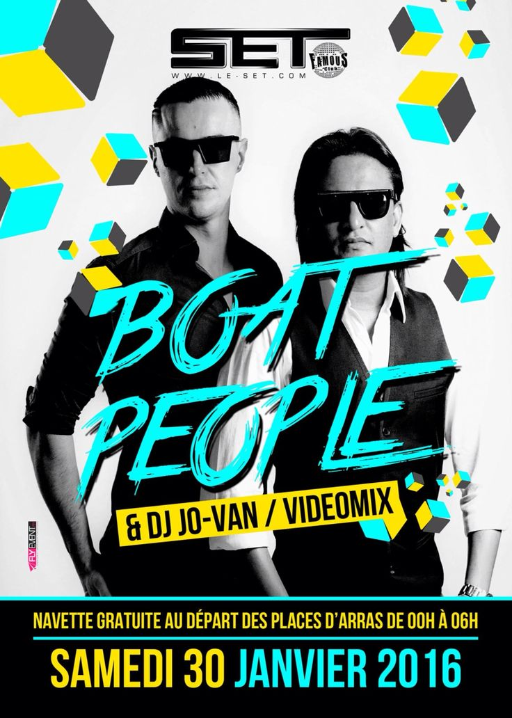 Next Event Comin'Up !! SET CLUB // THE BOATPEOPLE & JO-VAN