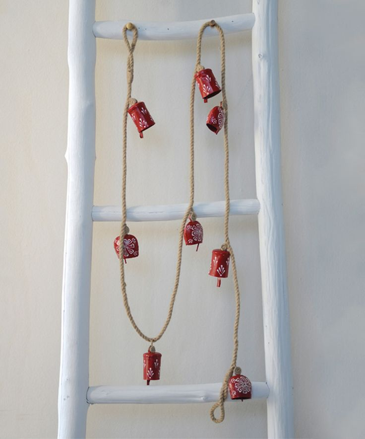 Look what I found on #zulily! Iron Hand-Painted Cow Bell Jute Garland by Creative Co-Op #zulilyfinds